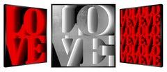 """L' Amour a l'Infini"" - kinetic, pop art,  pop culture, love, amour, art optic,"