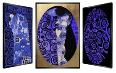 """Tree of Life"" kinetic, pop art, pop culture, Gustav Klimt, the Kiss,art optic,"