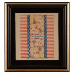 Patriotic 4th of July Themed Sturm's Splendid Bread Wrapper