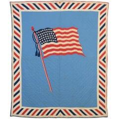 Patriotic Flag Quilt Old Glory