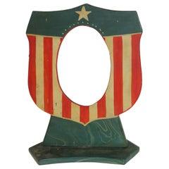 Patriotic Hand Painted Slate Frame