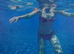 Kaleidoscope by Patsy McArthur -oil on canvas, contemporary realistic underwater