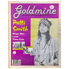 Patti Smith 'Goldmine' 1988 'Vintage Patti Smith'