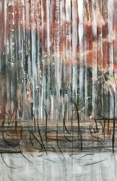 Midnight, Mixed Media on Canvas