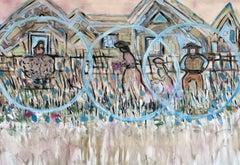 Life Circles II, Painting, Acrylic on Canvas