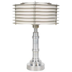 Pattyn Products Art Deco Table Lamp Attributed to Walter Von Nessen