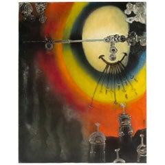 Paul Ackerman Composition Oil on Canvas