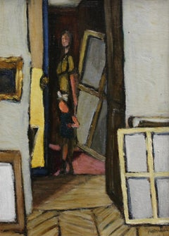 Woman and Child with Windows