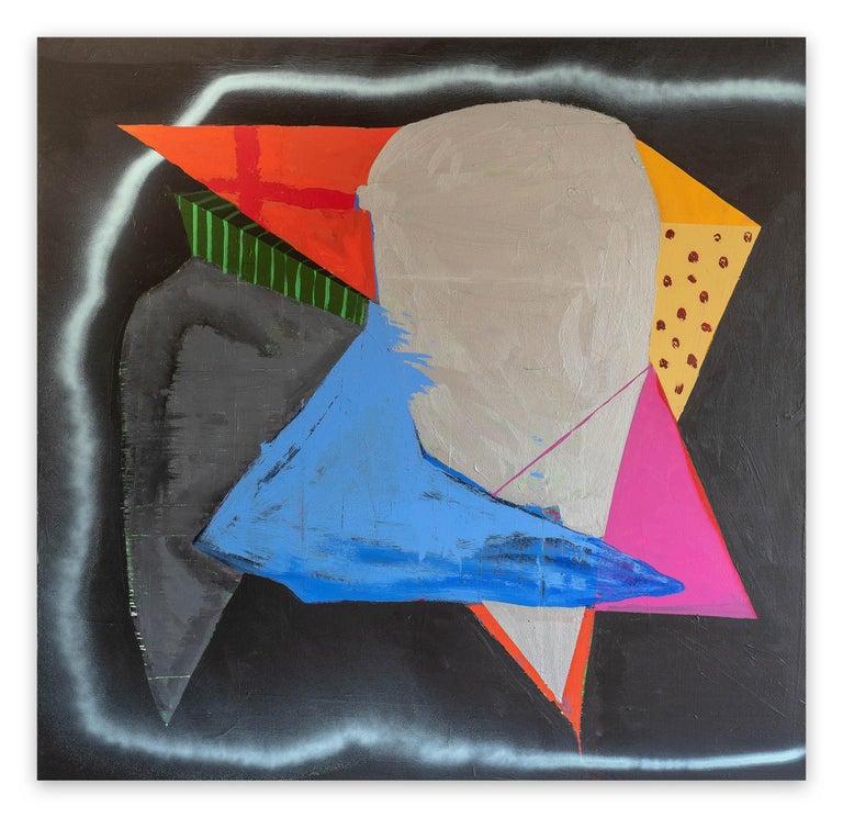 Paul Behnke Abstract Painting - Crusader