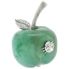 Paul Binder Apple Pendant