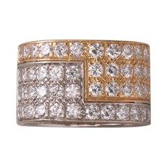 Paul Binder Diamond and Gold Ring
