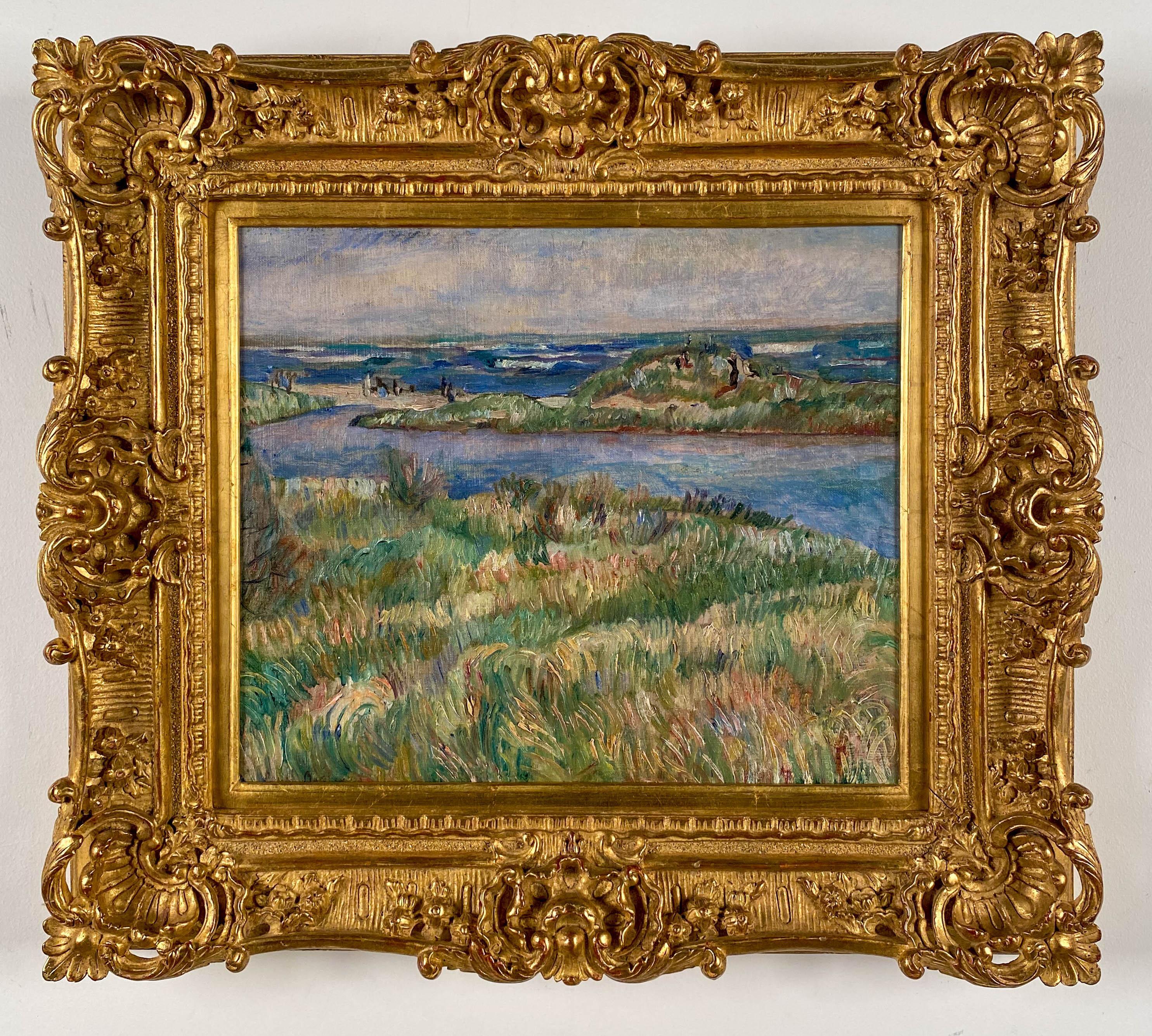 Impressionist Beach Scene,1919