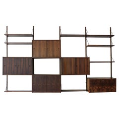 Paul Cadovious Rosewood Wall Unit