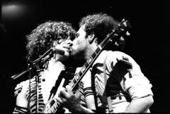 Alberto Y Los Trios Paranoias Kiss on Stage Vintage Original Photograph