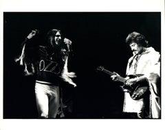 Black Sabbath Having Fun on Stage Vintage Original Photograph