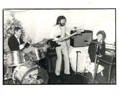 Eric Clapton Playing at a Wedding Celebration Vintage Original Photograph