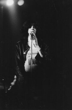 Joey Ramone at the Microphone Vintage Original Photograph