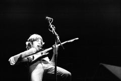 John Lees of Barclay James Harvest Performing Vintage Original Photograph