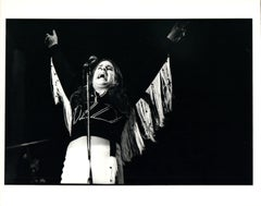 Ozzy on Stage Vintage Original Photograph