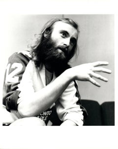 Phil Collins Talking With Hands Vintage Original Photograph