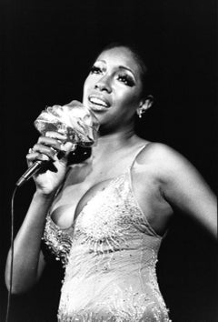 Scherrie Payne of the Supremes Performing Vintage Original Photograph
