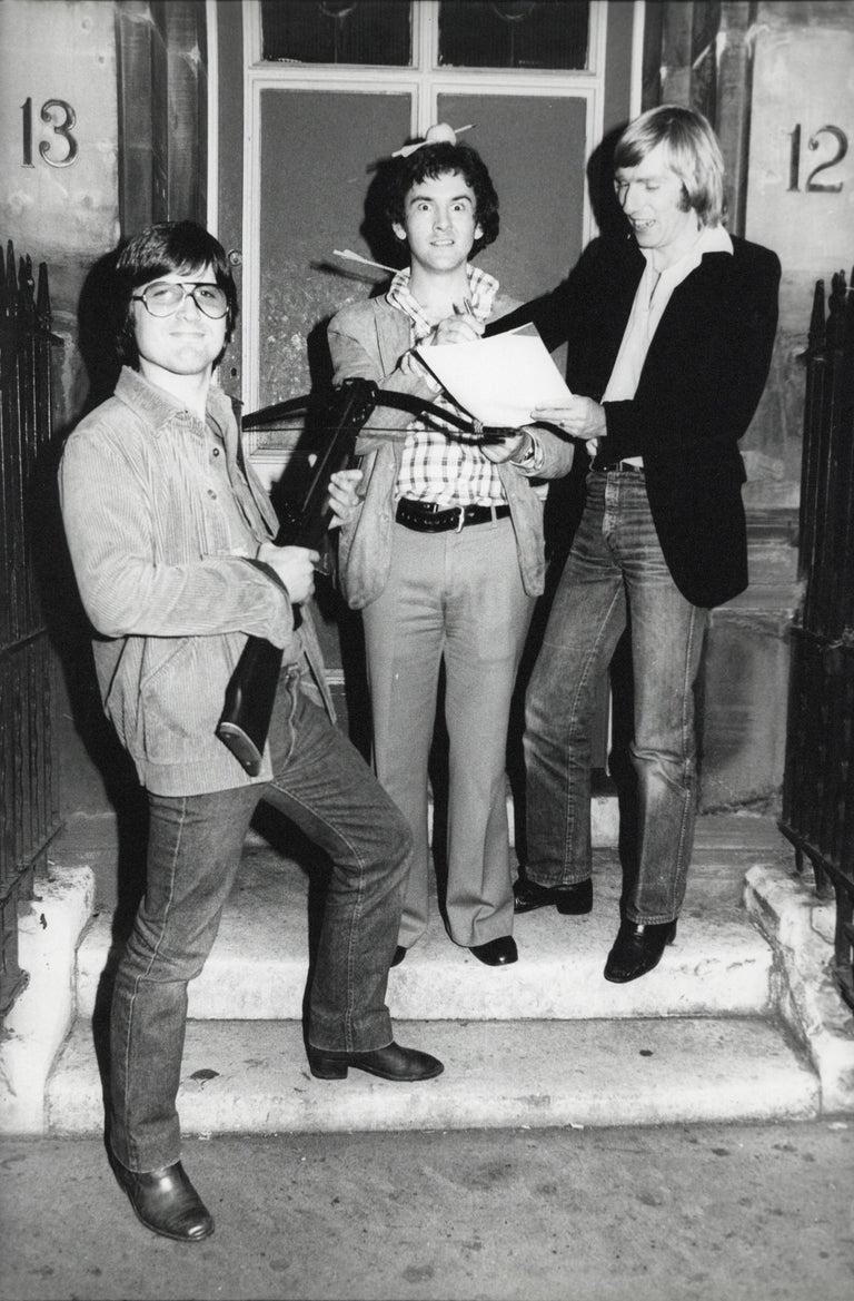 Young Def Leppard Comical Group Portrait Vintage Original Photograph