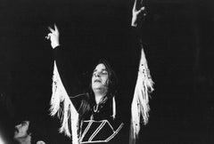 Young Ozzie Osbourne in Fringe Vintage Original Photograph