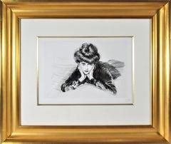 Le Visage Encadre, Madame Helen Helleu (The artist's Wife)