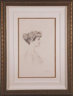 """""""Madame Georges Menier"""" Portrait, by Paul Cesar Helleu"""