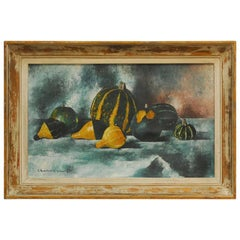 Paul Charlemagne Les Coloquintes Oil on Canvas