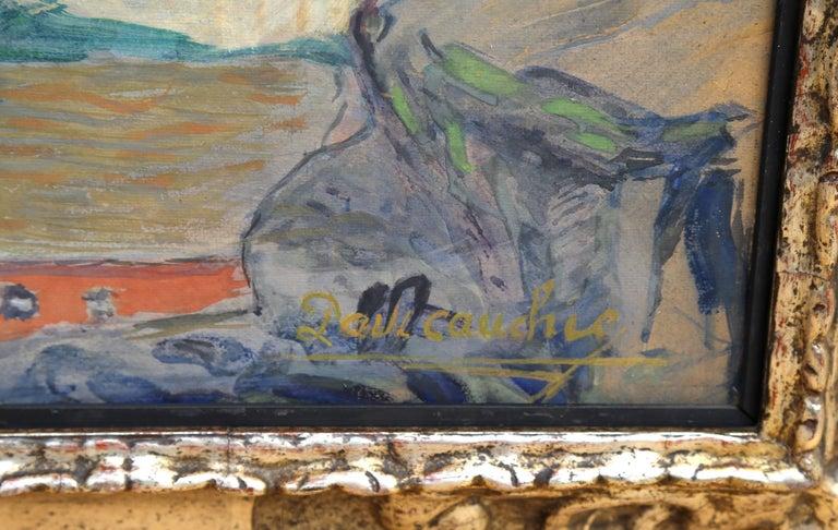 La Vallee de la Meuse - Impressionist Painting by Paul Chauchie