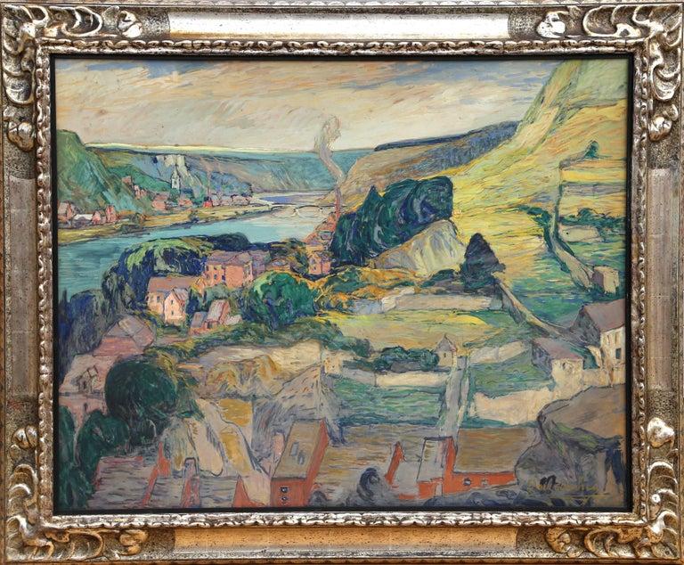 Paul Chauchie Landscape Painting - La Vallee de la Meuse