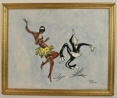 Josephine Baker Dance  Painting