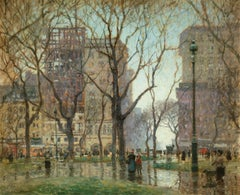 Rainy Day, Madison Square