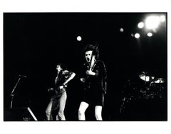 AC/DC on Stage Vintage Original Photograph