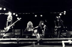 Aerosmith Live at Reading Vintage Original Photograph