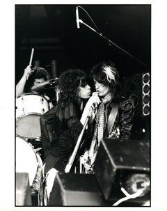 Aerosmith on Stage Vintage Original Photograph