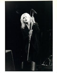 Blondie Singing Vintage Original Photograph