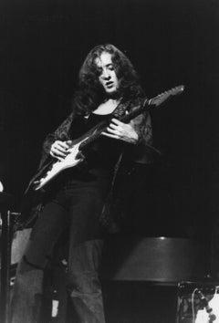Bonnie Raitt Playing Guitar Vintage Original Photograph