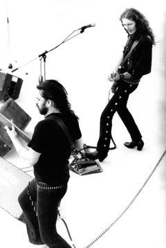 Motorhead Performing on Stage Vintage Original Photograph