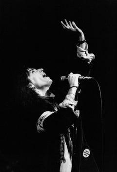 Patti Smith Performing Vintage Original Photograph