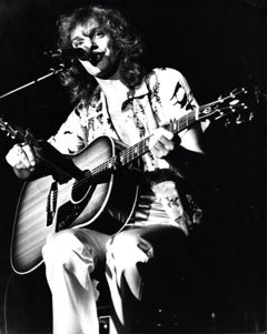 Peter Frampton Performing at Wembey Vintage Original Photograph