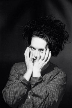 Robert Smith of The Cure Posed in the Studio II Vintage Original Photograph