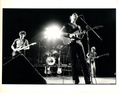 Talking Heads Performing on Stage Vintage Original Photograph