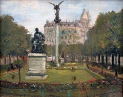 Montmartre and Scare Coeur: the Diderot Sculpture in Square d'Auvers