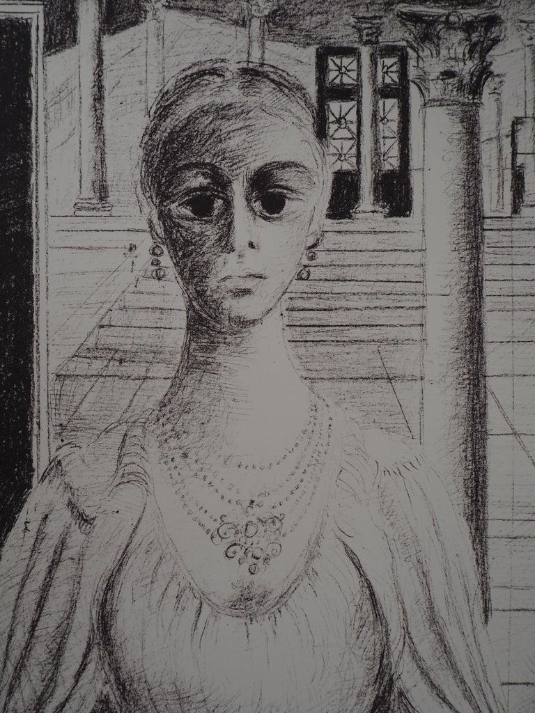 Paul Delvaux - The Empress