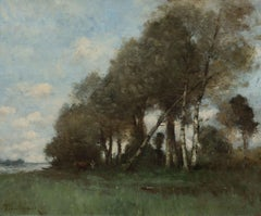 Paysage à Picquigny sur Somme