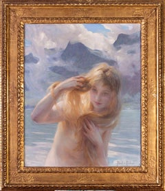 Paul Emile Chabas 'Angel of the morning' 19th / 20th French oil painting