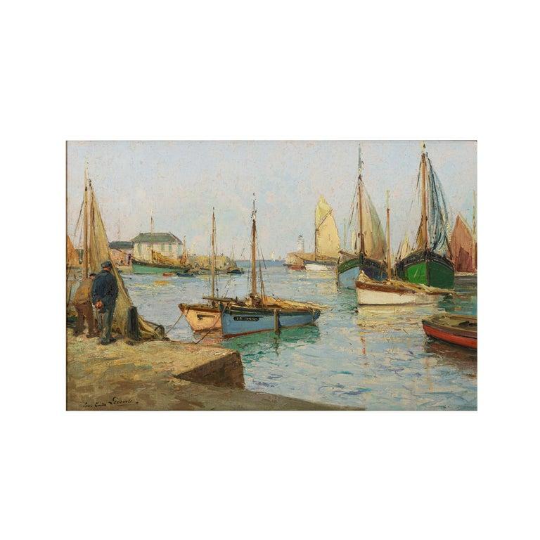 Paul Emile Lecomte 1877-1950 Oil on canvas.