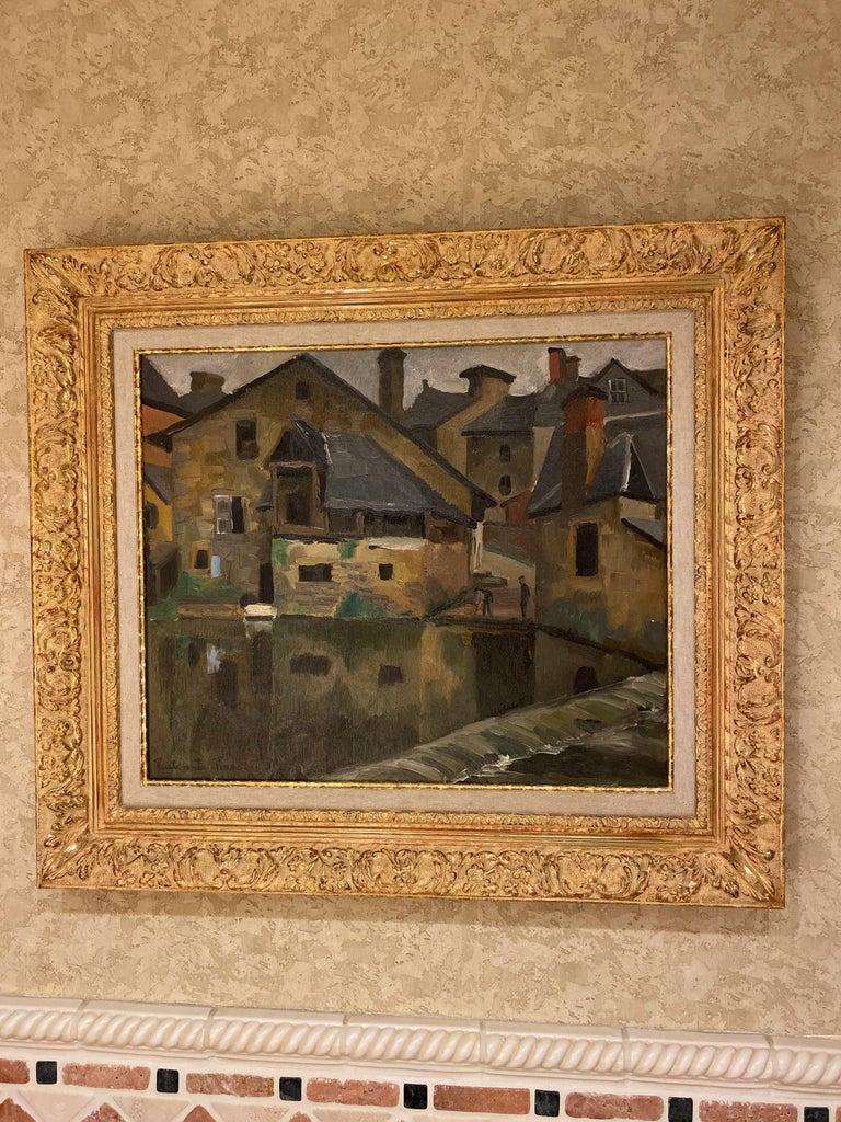 European Paul Emile Pissarro, LA LAVANDIÈRE, 1928 For Sale